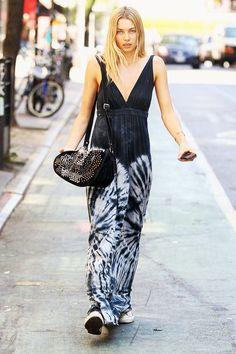 Jessica Hart . Street style