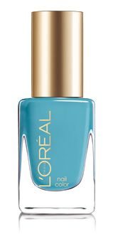 The perfect blue hue for Spring...Loreal Paris Colour Riche nail polish in NOW YOU SEA ME (530)