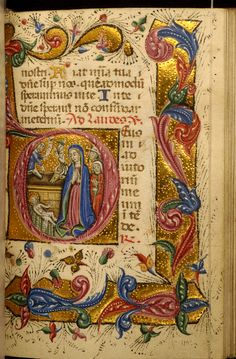 Zanino di Pietro - Leaf from Book of Hours - Walters W32224R - Open Obverse.jpg