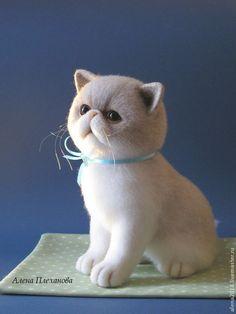 Маруся - белый,котик,котенок,котенок из шерсти,котенок игрушка,кот,кошка