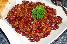 Chili con Carne, ein raffiniertes Rezept aus der Kategorie Eintopf. Bewertungen: 674. Durchschnitt: Ø 4,5.