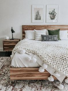 Home Interior Simple Boho bedroom decor ideas decor.Home Interior Simple Boho bedroom decor ideas decor Boho Bedroom Decor, Home Bedroom, Bedroom Furniture, Glam Bedroom, Ikea Bedroom, Bohemian Decor, Earthy Bedroom, Simple Bedroom Decor, Industrial Bedroom Decor