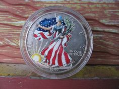 Silver 1999 Silver Dollar Coin Money E. by TheIDconnection on Etsy, $50.00 - Organize in #KlaserApp