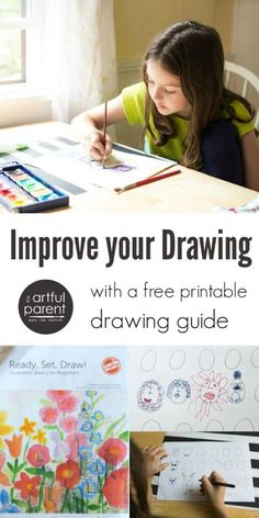 Improve your drawing and illustration with a free printable drawing guide that shows you how to develop characters, depict emotions, show motion, color illustrations, and more.
