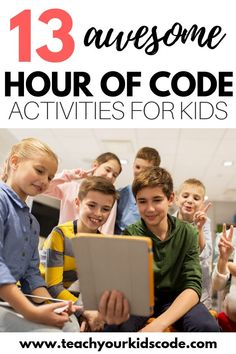 Hour of coding is upcoming! This year we will be celebrating Hour of Code during Computer Science week Dec 3-9, 2018. Check out our curated list of hour of code activities. These activities are perfect for the home or classroom. These free coding activities will get students learning the basics of computer programming in no time. Computer Games For Kids, Learn Computer Science, Programming For Kids, Computer Programming, Gaming Computer, Programming Humor, Teaching Technology, Teaching Biology, Educational Technology