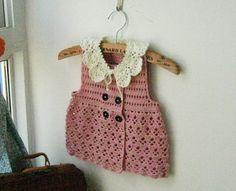 Chalecos a crochet para niñas (9)