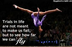 Trials in life are not meant to make us fail but to see how far we can fly.