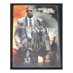 Denzel Washington - Man on Fire - Hand Signed Autographed Dvd Movie --- http://www.amazon.com/Denzel-Washington-Signed-Autographed-Movie/dp/B00AA556CM/?tag=jayb4903-20