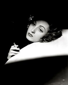 Danielle Darrieux, ca. 1940, photograph by Raymond Voinquel.