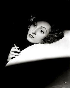 Danielle Darrieux, ca. 1940, photograph by Raymond Voinquel.