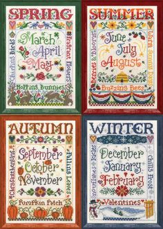 Seasons Set of Four