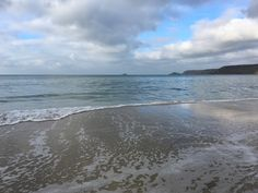 Peaceful at high tide, Sennen Beach 👍 #sennen #cornwall #sennencove #holiday #beach Holiday Beach, High Tide, Cornwall, Cottage, Holidays, Water, Outdoor, Gripe Water, Outdoors