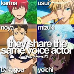 *spit takes* I knew about most of them but Yoichi, really? Nobuhiko Okamoto has skills.