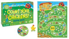Count Your Chickens by Peaceable Kingdom Press - $15.99, age 3