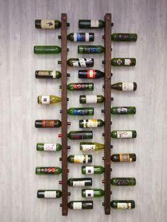 cave à vin, meuble rack à vin de métal ancien: