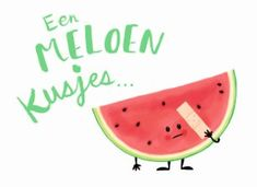 Een meloen kusjes. #Hallmark #HallmarkNL #Beterschap #kusjes #meloen Teen Birthday, Birthday Quotes, Fruit Quotes, Diy Postcard, Secret Pal, Cute Messages, Bday Cards, Get Well Soon, Happy B Day