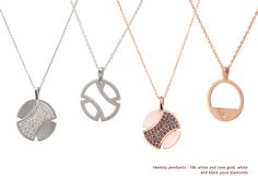 Identity Collection Luxury Jewelry, Identity, Fine Jewelry, Gold Necklace, Style Inspiration, Jewels, Colors, Silver, Collection