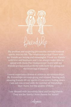 - A reminder- really need to get rid of toxic friendship. Friendship by CarlyMarie The Words, Affirmations Positives, Daily Affirmations, Positive Thoughts, Positive Quotes, Positive Vibes, Reiki, Quotes To Live By, Me Quotes