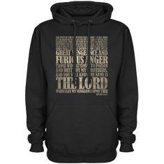 Ezekiel 25:17 Hoodie - Black / Medium