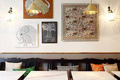 MG Road Indian Restaurant in Paris