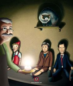 PANPIN AGINTARIAK. Ilustrazioa: Mikel Otaño
