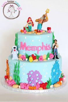 Little Mermaid Cake — Birthday Cakes