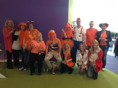 Go Orange! Yes with the Monster Amsterdam Team!