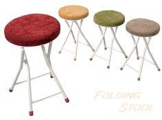 LFS折りたたみシンプルスツールP31 布張りチェアイス椅子 北欧 インテリア 雑貨 家具 Scandinavian modern chairs ¥1680yen 〆04月30日