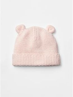 Bear sweater hat