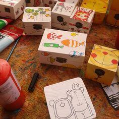 Cajitas ilustradas www.caperucitazul.com