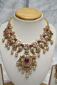 Latest Pachi Necklace - Jewellery Designs