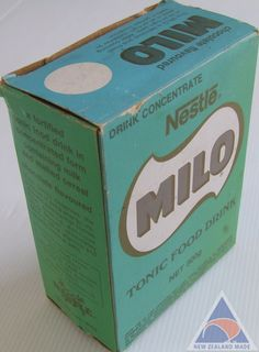 70s Milo box My Childhood Memories, Childhood Toys, Kiwiana, Shopping Day, Candy Shop, Time Capsule, Old Toys, Old Pictures, New Zealand
