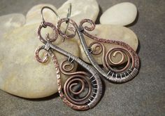 50 off Tutorial SaleTutorial for Rustic Swirled by JewlieBeads, $10.00