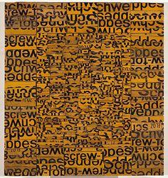 """High Density"" by Rosalie Gascoigne (1917-1999)"
