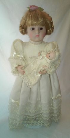 House of Lloyd Haunted Porcelain Doll with Porcelain Baby ~ Spooky Paranormal Doll Supernatural Entity by FugitiveKatCreations on Etsy