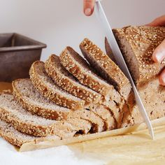 Gluten-free sandwich bread recipe -- tastes great with 2-5g protein and 2-5g fiber at the Gluten Free Baking Academy