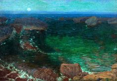 Antonín Hudeček - Moře