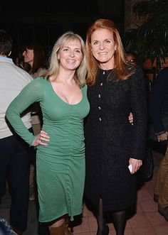 Alix Astir (L) and Duchess of York Sarah Ferguson attend the Gavel&Grand Benefit Auction at The Bowery Hotel on March 26, 2014 in New York City.