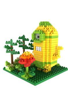 Gem Brick Mini Blocks Minions Jungle