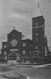 Swedish Evangelical Church i Englewood, Chicago.