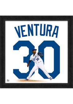 Yordano Ventura Kansas City Royals 20x20 Uniframe Framed Posters