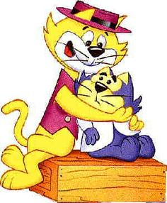 Top cat and side kick Benny the Ball