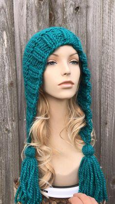Crochet Mittens, Crochet Beanie, Knit Or Crochet, Crochet Hats, Knitted Headband, Knitted Hats, Motifs Beanie, Cute Winter Hats, Hats For Women