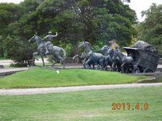 Monumento a la diligencia - Montevideo, Montevideo- Uruguay