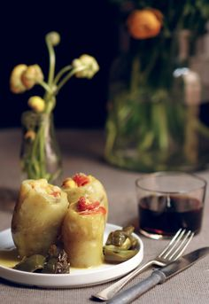 Receta 232: Patatas con pimientos » 1080 Fotos de cocina