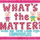 Solids, Liquids, and Gases oh my!!!  Using the 3 little pigs fairy tale students will work with the story in reading, math, and science.  Any quest...