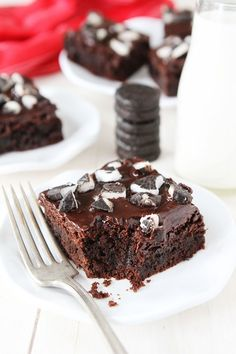 Peppermint Pattie Brownies Recipe on Rich fudgy brownies with ganache and peppermint patties The chocolate mint combo is divine Brownie Recipes, Chocolate Recipes, Cookie Recipes, Dessert Recipes, Recipes Dinner, Pasta Recipes, Crockpot Recipes, Soup Recipes, Breakfast Recipes