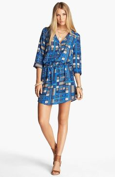 RBL Cuffed Sleeve Dress available at #Nordstrom