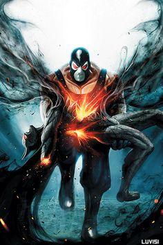 Wrath Bane breaking Batman's back. The epic realization that yes batman is mortal. :O