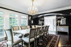 Amazing work in this Clearwater, Florida home, including the dining room, by Nelson Construction. #housetrends https://www.housetrends.com/specialist/Nelson-Construction-Renovations-Inc
